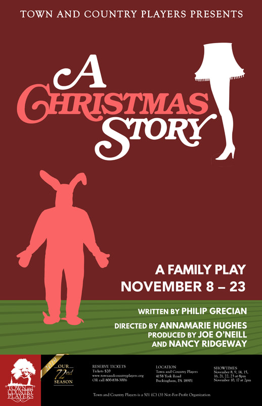 A Christmas Story 2019.A Christmas Story Town And Country Players